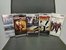 5 Psp Umd movies lot Shaolin Soccer Kung Fu Hustle House of Fury Initial D Lost