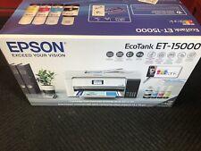 Epson EcoTank ET-15000 Wireless Color All-in-One Supertank Printer Brand New!