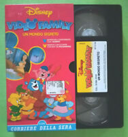 VHS FILM Ita Animazione Walt Disney VIDEO FAMILY Un Mondo Segreto no dvd (V161)