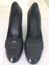 Marc Jacobs Black Leather Pumps size 37 (UK 4)