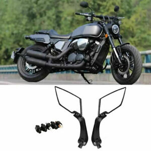 2Pcs Motorcycle Mirror 8mm 10mm View Mirror Rear.For E-Bike Left and Right