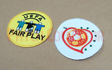 L'uefa championnat européen 2004 + fair play manche soccer patch/badge