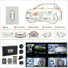 Automobile 12V 360° HD Bird View Panoramic System Parking Rearview 4 Camera DVR