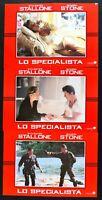 Fotobusta Lo Specialist Sylvester Stallone Sharon Stone Luis Llosa Steiger R99