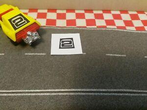 Matchbox Superfast No58 Woosh-N-Push Sticker only  NO CAR