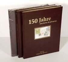 150 Jahre Deutsche Briefmarken I - III, 3 Bände komplett (48008)