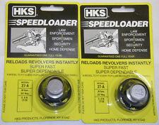 2 Pack HKS 27-A Speed Loader S&W 27-28 38 SPL 357 Mag