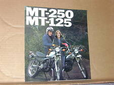 1976 Honda MT250 MT125 Motorcycle Sales Brochure - Literature