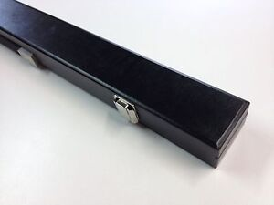 BLACK Box Pool Snooker Billiard Cue Case Holds one two piece pool cue RRP $49.90