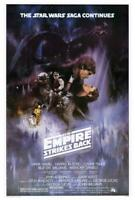 The Empire Strikes Back Movie POSTER 27 x 40 Mark Hamill, Carrie Fisher, A