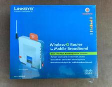 Linksys WRT54G3G-UK Wireless G Router for 3G/UMTS
