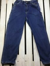 Field & Stream Mens Flannel Lined Carpenter Jeans Pants 31/30.            P1