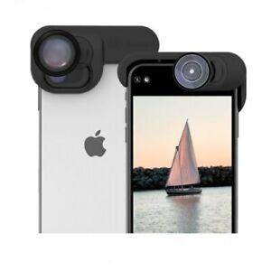 Olloclip Elite Pack for iPhone 11 Series, Pocket Telephoto 2x, Fisheye, Macro15X