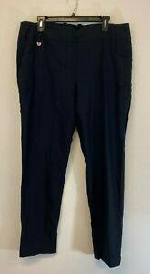 Callaway Women's Stretch Tech Pull-On Golf Trousers Caviar Size XL -
