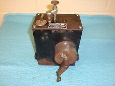 Antique Steam Engine Oiler Lubricator - Bowser