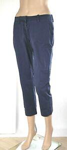 Pantaloni Donna 7/8 MET Italy SA134 Affusolato Blu Tg 25 27 28 30 veste grande