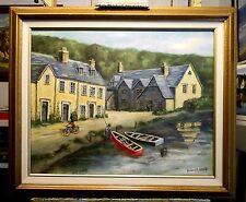 English Village by Richard R. Nervig