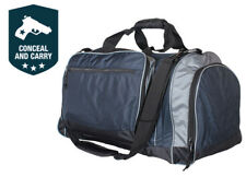 FOX Outdoor Jumbo Conceal Carry CCW Sport Duffel Gym Duffle - Navy Blue 54284