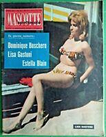 LISA GASTONI - MASCOTTE,R@R@ RIVISTA DI SPETTACOLO-N.36 del 1961-RIF.7972