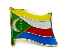 Lapel Pin Flag Pin Comoros National Flag Metal