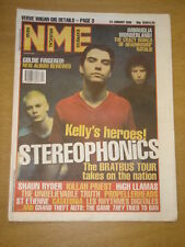 NME 1998 JAN 24 STEREOPHONICS CATATONIA GOLDIE