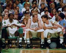 Boston Celtics Larry Bird Kevin McHale NBA Licensed Unsigned Glossy 8x10 Photo