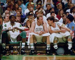 Boston Celtics Larry Bird Kevin McHale NBA Licensed Unsigned Glossy 8x10 Photo
