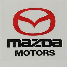 Amazing Car Fuel Gas Tank Cap Stickers Adhesive Graphic For Mazda (Black)