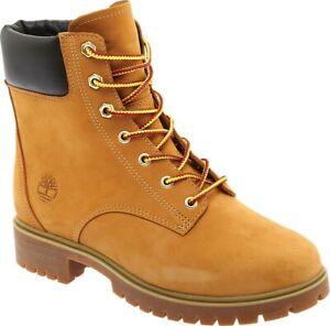 "Timberland Jayne 6"" Waterproof Ankle Boot Women's Wheat Nubuck Leather. US 7 M"