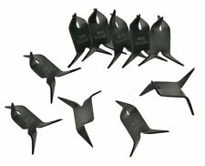 NINJA CALTROPS Spikes Tactical MAKIBISHI TETSUBISHI Black 10 Pack