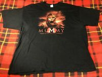 Vintage The Mummy Tomb Of The Dragon Emperor Movie Promo Tee T-shirt Sz 2XL Rare