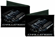 Dodge Challenger 392 HEMI Canvas Bi-Fold Wallet Licensed
