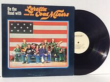 On The Road With Loretta Lynn & The Coal Miners vinyl Lp 1976 Private Pressing