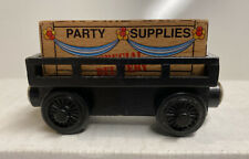 Thomas & Friends Wooden Railway Cargo Car With Party Supplies Load , 2003