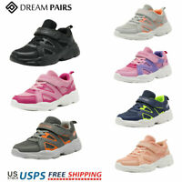 DREAM PAIRS Kids Sneakers Boys Girls Mesh Sporty Tennis Shoes Running Shoes