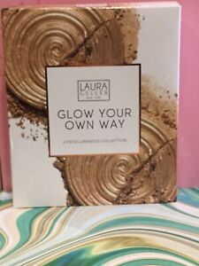Laura Geller glow your own way 2 piece luminous collection gilded honey