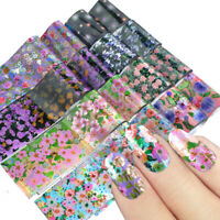 Tips Starry Sky Nail Foil Manicure Decor Nail Art Stickers Holographic Decals