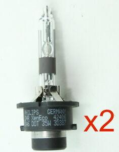 ** 2 Pack Philips D4R HID Lamp fits Subaru 84920SG000 Headlight Bulb