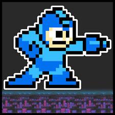 Mega man decal sticker NES 8-bit  Vinyl nintendo digitally printed die cut 5in