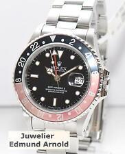 Rolex GMT Master II Stahl Coke Uhr Ref.16710 von 1989 Vintage