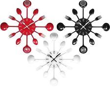 Premier Housewares Kitchen Modern Wall Clocks