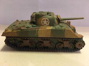 Corgi Fighting Machines M4 Sherman Tank WWII Die-Cast 2002