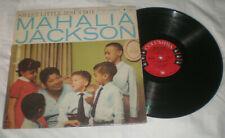 GOSPEL, CHRISTMAS MAHALIA JACKSON 1961 SWEET LITTLE JESUS BOY lp- COLUMBIA 6 EYE