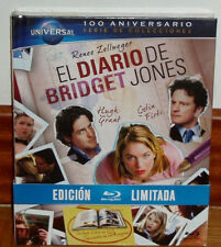 THE DIARY OF BRIDGET JONES-BRIDGET JONES´S DIARY-DIGIBOOK BLU-RAY+BOOK-NEW R2