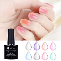 7.5ml Soak Off UV Opal Jelly Gel Polish Crystal Blossom Gel Varnish UR SUGAR
