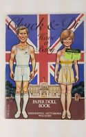 Vintage Chuck and Di Have a Baby Paper Doll Book Princess Diana 1982