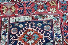 Antique Caucasian Kurdish Rug 4x8.6 Dated 1312 Hijri Circa 1894 AD