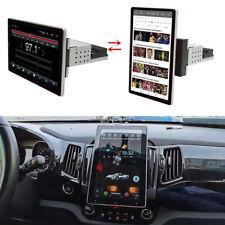"Rotatable Android 9.1 Car Stereo GPS Navigation Radio Player Single Din WIFI 10"""