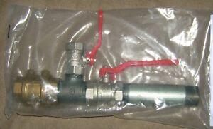 Doppelter Pumpenstock mit Entlüftung / Brunnen / Rückschlagventil