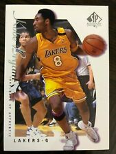"1999-00 SP Authentic #38 Kobe Bryant - ""Mamba"" Lakers HOF Basketball Card"
